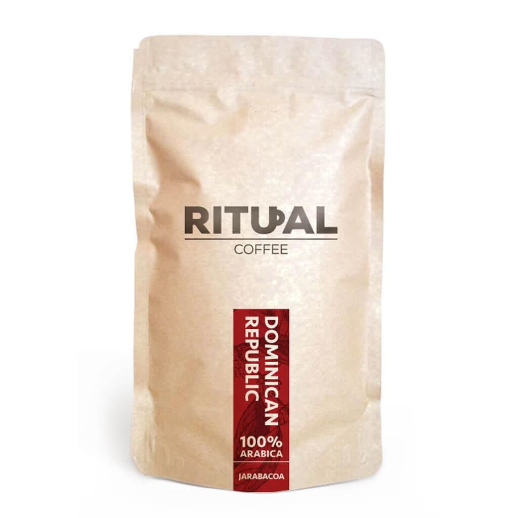 Dominikánska Republika Jarabacoa zrnková káva