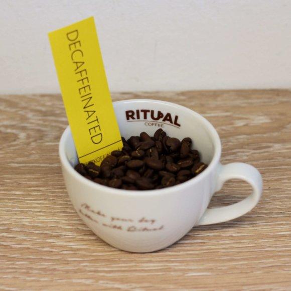 Bezkofeinova - zrnka RITUAL COFFEE